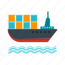 cargo, export, logistics, shipment, shipping, storage, warehouse icon