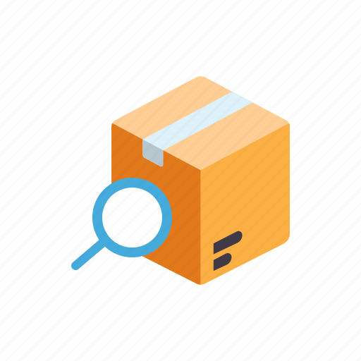 box, delivery, logistic, package, service, shipping, tracking icon