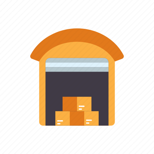 building, cargo, distribution, factory, logistic, storage, storehouse, warehouse icon