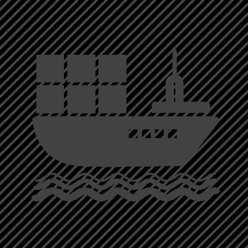cargo, export, logistics, shipment, shipping, storage, warehouse icon