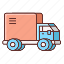 delivery, transport, truck, vehicle