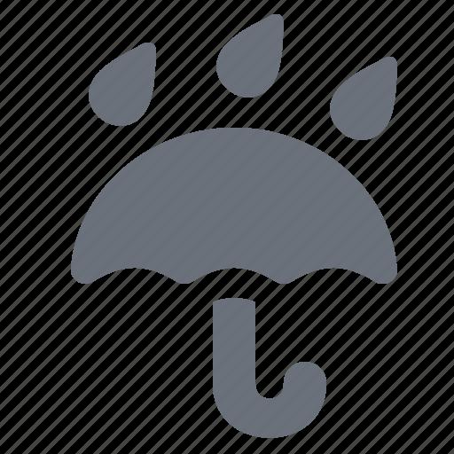 industry, keep dry, logistic, logistics, pika, pixel perfect, rain, rainy, simple, umbrella icon
