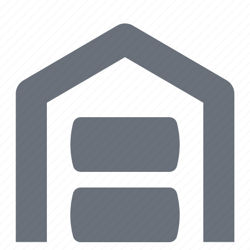 industry, logistic, logistics, pika, pixel perfect, simple, ware house, warehouse icon