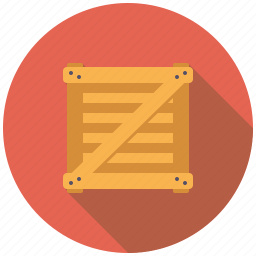 box, cargo, crate, logistics, package, shipping, transport icon