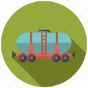 cargo, logistics, railway, shipping, tank, transport, wagon icon