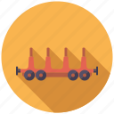 cargo, logistics, railway, rialroad, shipping, transport, wagon icon