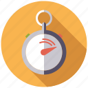 cargo, just in time, logistics, shipping, stopwatch, time, transport icon