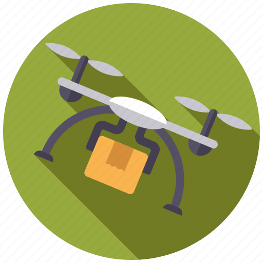 cargo, delivery, drone, logistics, parcel, shipping, transport icon