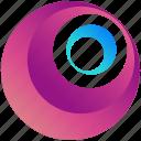 circles, circle, creative, design, logo, logogram, shape