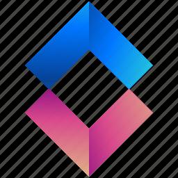 creative, design, different, logo, logogram, shape, shapes icon