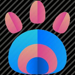 animal, creative, design, logo, logogram, print, shape icon