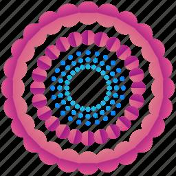 circular, creative, design, logo, logogram, shape icon