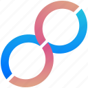 infinity, logogram, creative, design, logo, shape