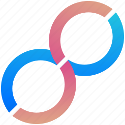 creative, design, infinity, logo, logogram, shape icon