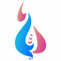 creative, design, flame, logo, logogram, shape icon