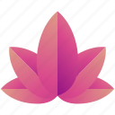 creative, design, floral, logo, logogram, lotus, shape icon