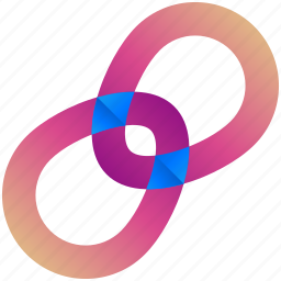 creative, design, logo, logogram, rings, shape icon
