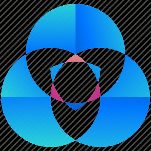 circles, creative, design, logo, logograms, shape icon
