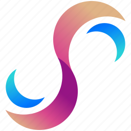 creative, design, logo, logogram, moons, shape icon