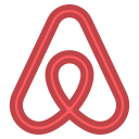 airbnb, travel icon