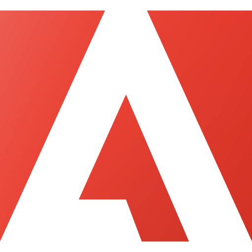 adobe, brand, brands, logo, logos icon