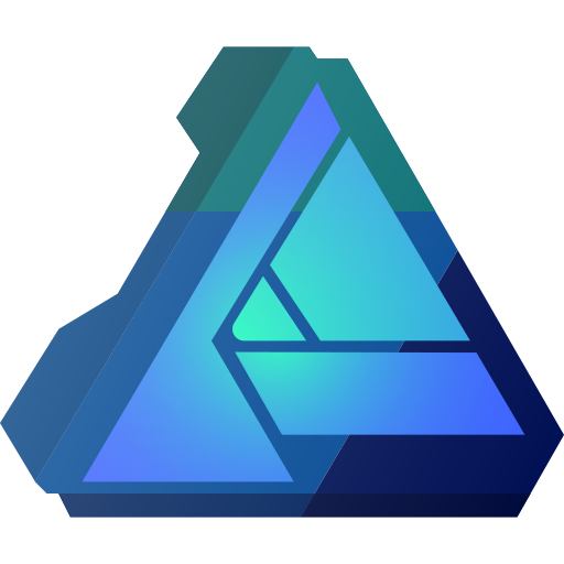 Affinity, brand, brands, designer, logo, logos icon