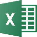 brand, brands, excel, logo, logos icon