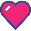 favorite, heart, love, valentine, valentines icon