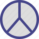 life, living, peace, sign icon