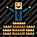 bonus, finance, money, reward icon