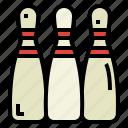 bowling, entertainment, fun, sports icon