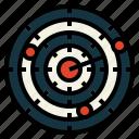 dart, entertainment, gaming, target icon