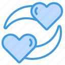 heart, couple, love, valentine, romance