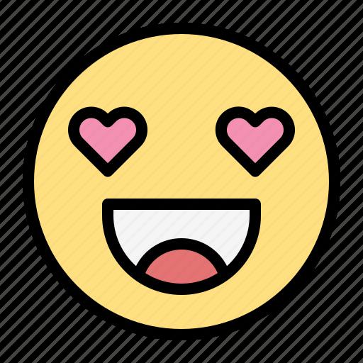 Love, emoji, heart, valentine, romance, wedding icon - Download on Iconfinder