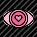 love, eye, heart, valentine, romance, wedding, romantic