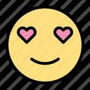 love, smile, heart, emoji, valentine, romance