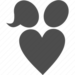 family, heart, love, user icon