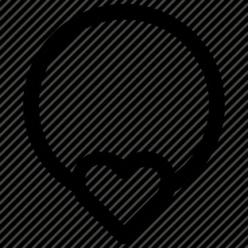 love, necklace, romantic, valentine icon