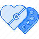 candy, chocolate, day, love, relationship, valentine icon