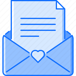 day, envelope, letter, love, relationship, valentine icon