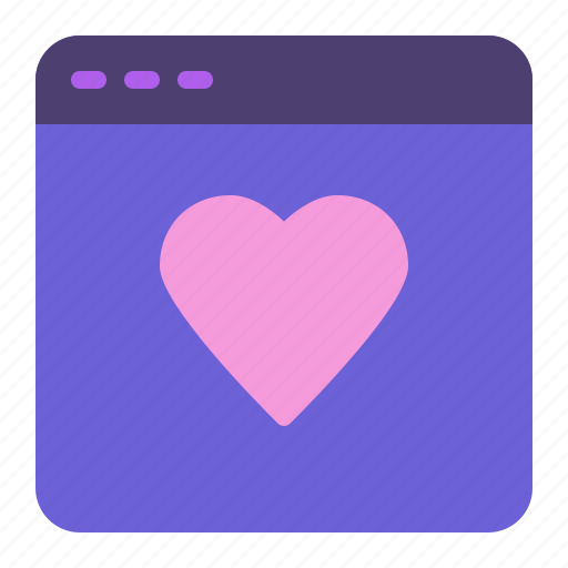 Heart, like, love, web page icon - Download on Iconfinder
