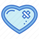 health, heart, loving, shape icon