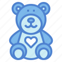 animal, bear, childhood, teddy, toy
