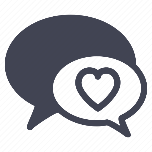 chat, conversation, love, marriage, message, talk icon