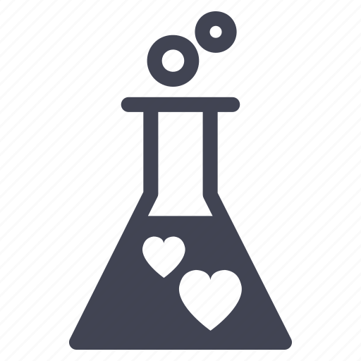 chemistry, labratory, love, marriage, test icon