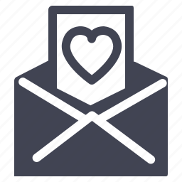 envelope, letter, love, marriage, message icon