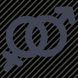 female, love, male, marriage, sex icon