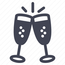 celebration, champagne, love, marriage, party, toast icon