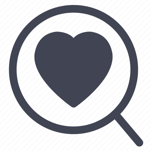 find, love, magnifier, marriage, search icon