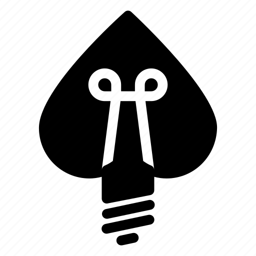 bulb, electricity, heart shaped, lightbulb, romance icon